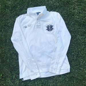 Vintage Polo Ralph Lauren Long-Sleeve Rugby Top